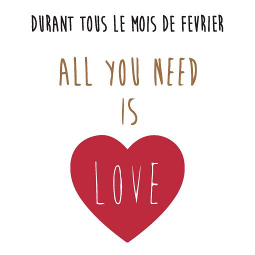 Campagne all you need is Love – Diwan Mgallery by Sofitel