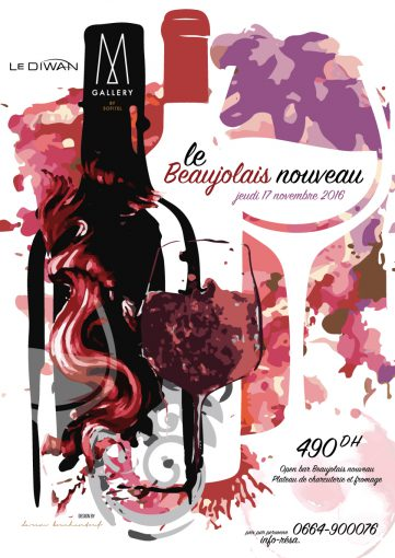 Campagne Beaujolais Nouveau – Diwan Mgallery by Sofitel