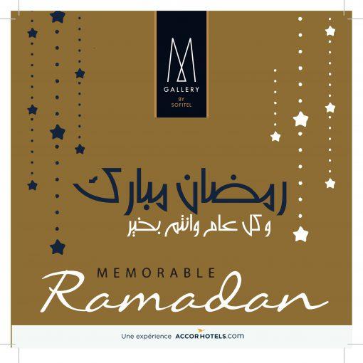 Campagne Ramadan 2018 – Diwan Mgallery by Sofitel