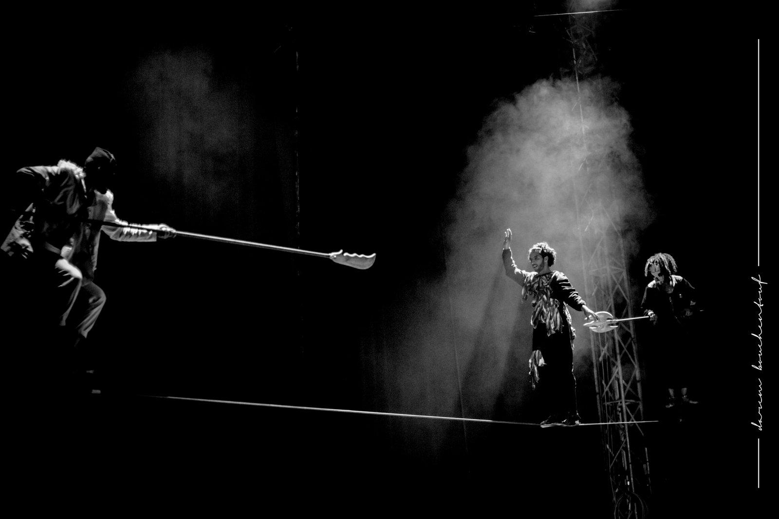ÉCHECS ET MÂTS, par l'école nationale de cirque Shems'y